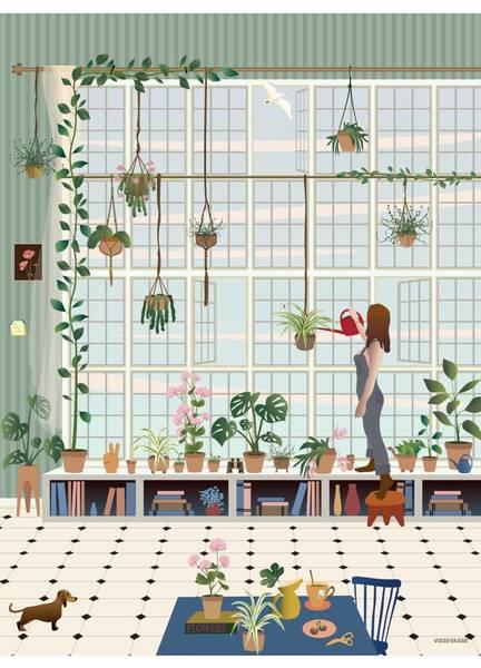 Bilde av PLAKAT - Plant Lover - Vissevasse