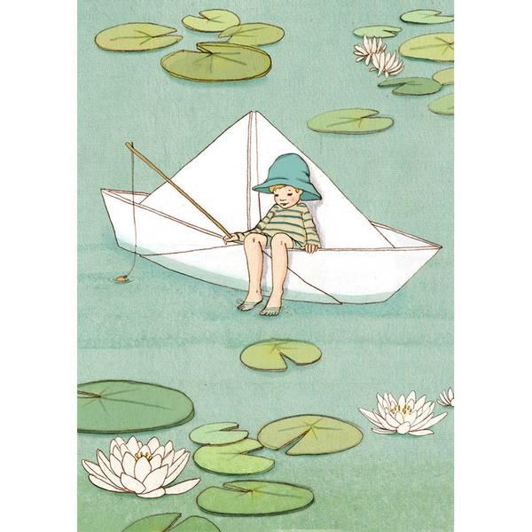 Bilde av KORT - Paper Boat - Belle & Bo