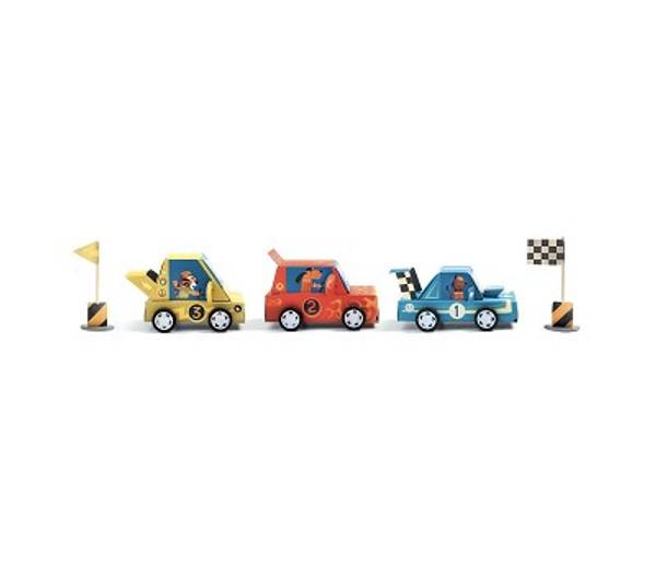 Bilde av HOBBYSETT - Lag Din Egen Racerbil - Djeco