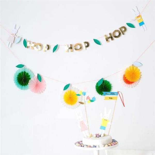 Bilde av GIRLANDER - Hop Hop Hop Easter - Meri  Meri