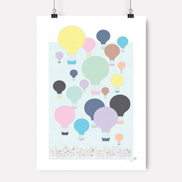 Bilde av PLAKAT - Nordisk Ballong - Jubel