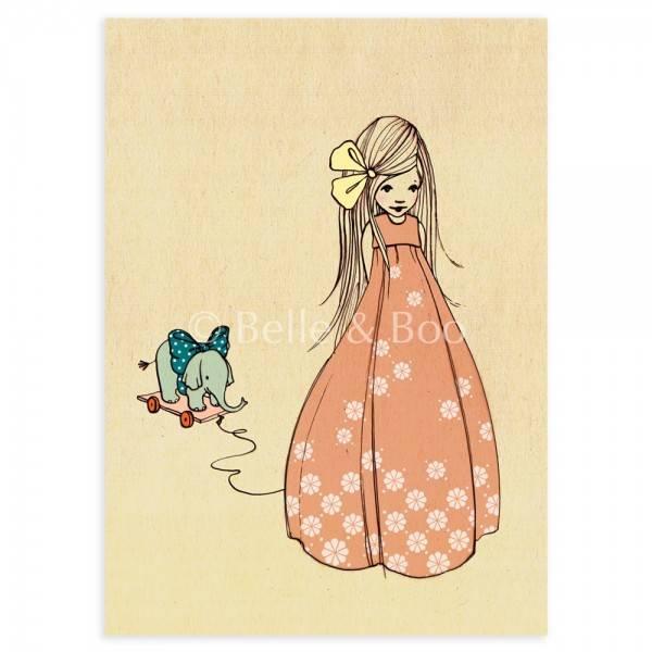 Bilde av KORT - I Like Your Bow - Belle & Bo